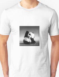 Waving baby panda Unisex T-Shirt
