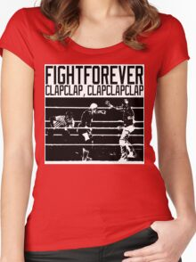 Fight Forever Women's Fitted Scoop T-Shirt