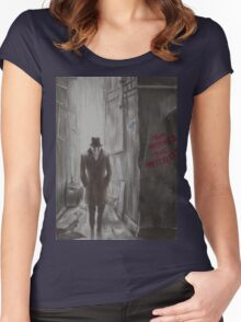 Who Watches The Watchers? Women's Fitted Scoop T-Shirt