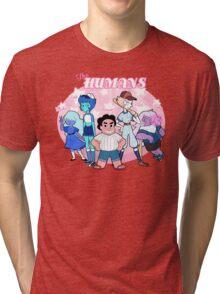 Perfectly Normal Human Baseball Team Tri-blend T-Shirt