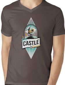 Sky Cast Mens V-Neck T-Shirt