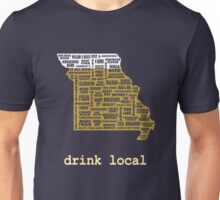 Drink Local - Missouri Beer Shirt Unisex T-Shirt