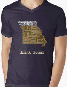 Drink Local - Missouri Beer Shirt Mens V-Neck T-Shirt