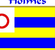 Holmes Coat of Arms/Family Crest Sticker