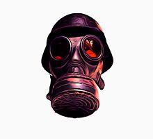 Hardcore Gas Mask Design Men's Baseball ¾ T-Shirt