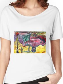 melting illusions painting Women's Relaxed Fit T-Shirt