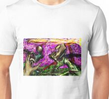Extraordinary Meat Machines Battling for Dominance in color  Unisex T-Shirt
