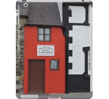 Smallest House in Great Britain iPad Case/Skin