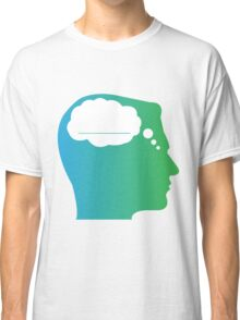 What About Blank Logo w/o Words Classic T-Shirt