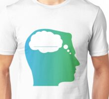 What About Blank Logo w/o Words Unisex T-Shirt