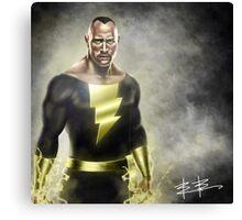 Digital painting super hero Canvas Print