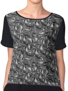 The Crows of VFD Chiffon Top