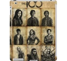 The 100 poster 1 iPad Case/Skin