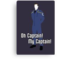 Oh Captain! My Captain! - Jonathan Archer - Star Trek Canvas Print