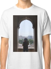 The Lego Backpacker at Malaga Castle Classic T-Shirt