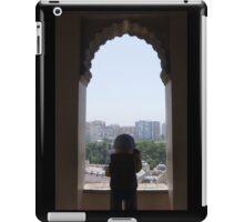 The Lego Backpacker at Malaga Castle iPad Case/Skin
