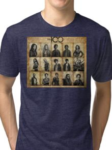 The 100 poster 2 Tri-blend T-Shirt