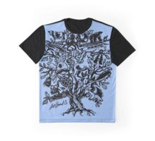Art Tree Graphic T-Shirt