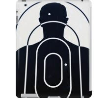 Sign depicting the political situation during the dictatorship in Argentina iPad Case/Skin