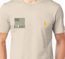 Second Lieutenant Infantry US Army Rank Desert by Mision Militar ™ Unisex T-Shirt