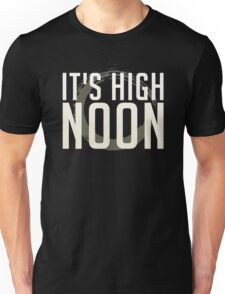 It's High Noon (White/Cream) Unisex T-Shirt