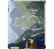 Lego Backpacker in Tianmen Mountains iPad Case/Skin