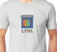 Little Free Neurodiversity Library Unisex T-Shirt