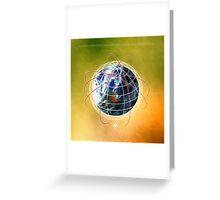 Digital design background Greeting Card