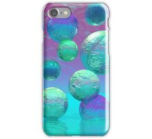 Ocean Dreams - Aqua and Violet Ocean Fantasy iPhone Case/Skin