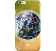 Digital design background iPhone Case/Skin