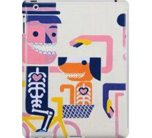 Graffiti and Street art in Bogota iPad Case/Skin