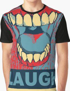 LAUGH Graphic T-Shirt