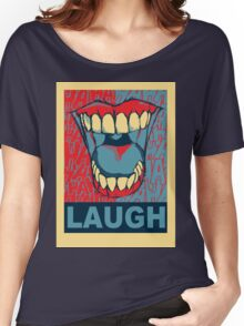 LAUGH Women's Relaxed Fit T-Shirt