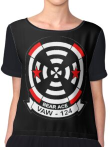 VAW-124 Bear Aces Chiffon Top