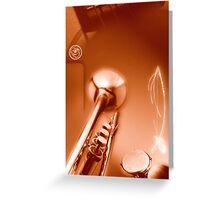 Brazilian saxophone Greeting Card