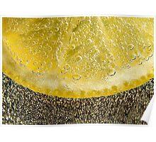 Fizzy Lemon Poster