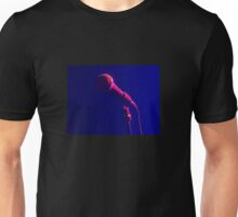 microphone on stage  Unisex T-Shirt