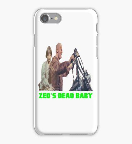 Pulp Fiction - Zed's Dead Baby iPhone Case/Skin