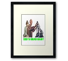Pulp Fiction - Zed's Dead Baby Framed Print