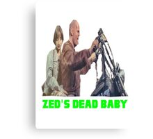 Pulp Fiction - Zed's Dead Baby Canvas Print