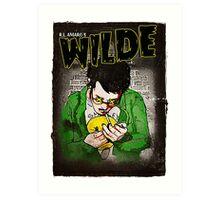 R.L. Amaro's WILDE (Graphic Novel Cover) Art Print