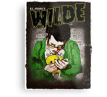 R.L. Amaro's WILDE (Graphic Novel Cover) Metal Print