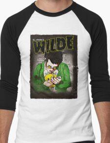 R.L. Amaro's WILDE (Graphic Novel Cover) Men's Baseball ¾ T-Shirt