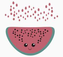 watermelon kawaii Kids Tee