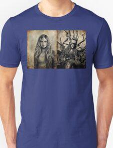 Clarke and Lexa (Clexa) Unisex T-Shirt