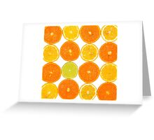 Oranges & Lemons Greeting Card