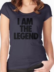 I AM THE LEGEND Women's Fitted Scoop T-Shirt