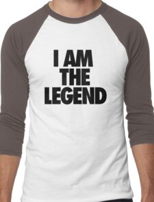 I AM THE LEGEND Men's Baseball ¾ T-Shirt