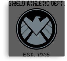 SHIELD Athletic Department Canvas Print