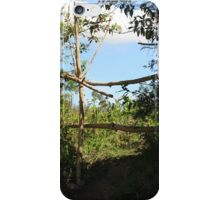 Wood and Tree Fence iPhone Case/Skin